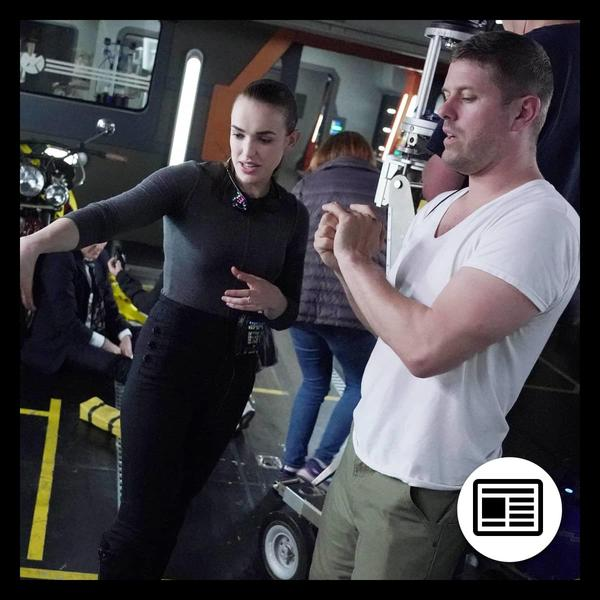 Marvel Insider Elizabeth Henstridge Directs an Episode of Marvel's Agents of S.H.I.E.L.D. Season 7