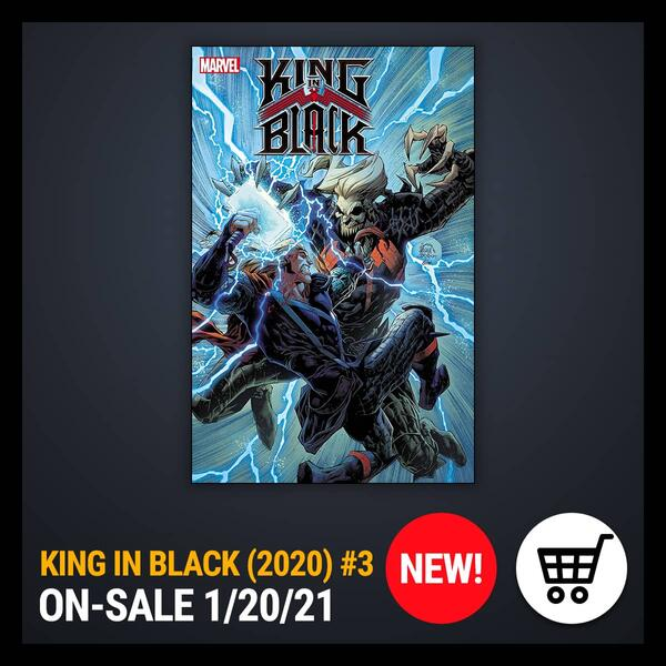Marvel Insider GET THE COMIC OF THE WEEK KING IN BLACK (2020) #3