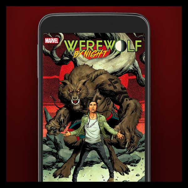 Marvel Insider Featured Rewards Digital Comic Werewolf By Night (2020) #1