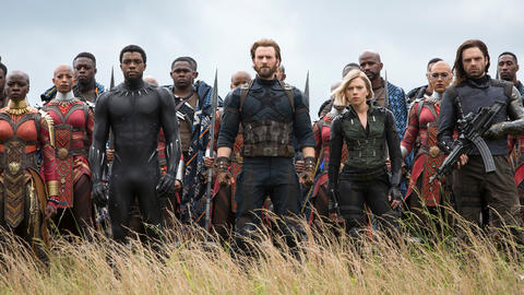 Image for The Avengers Reassemble on the Set of 'Avengers: Infinity War' to Take on Thanos