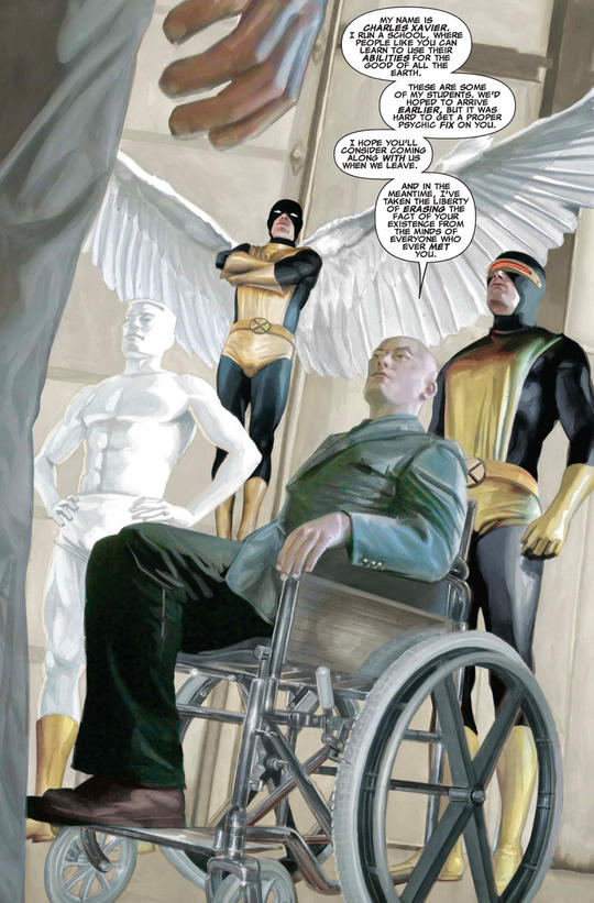 X-Men, Charles Xavier origin