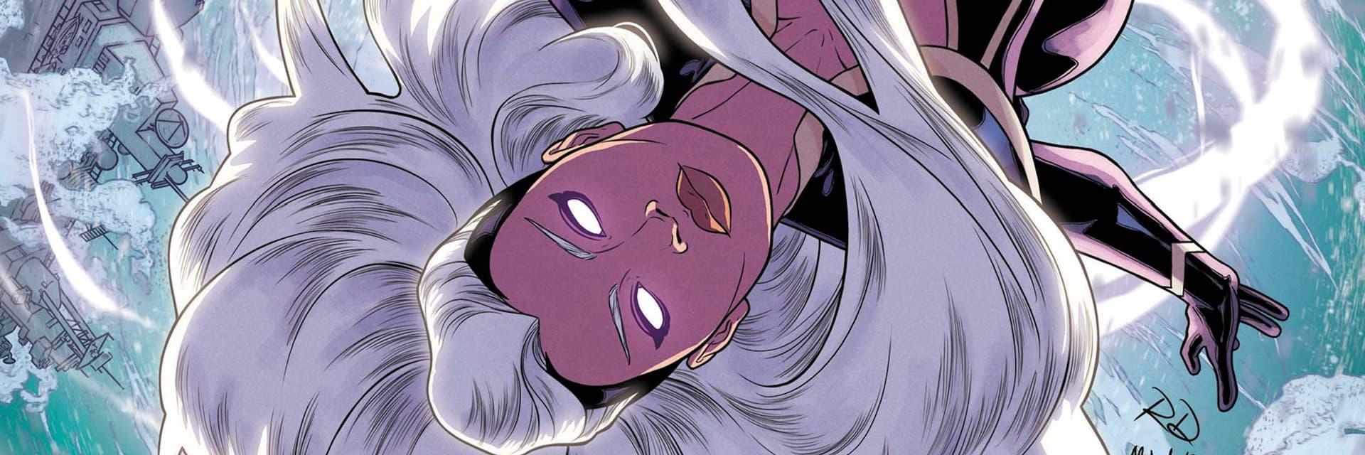 Tempestade (Storm). Imagem: Marvel Comics/Divulgação