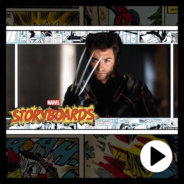 Marvel Insider Marvel's Storyboards Hugh Jackman's Wolverine Story