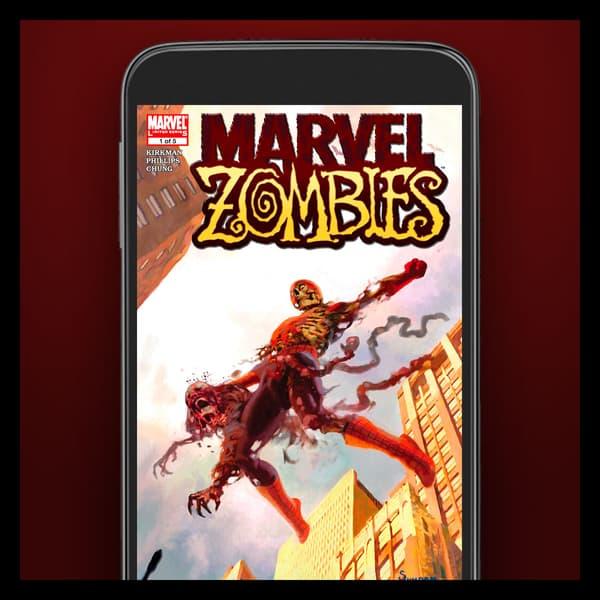 Marvel Insider Featured Reward Digital Comic Marvel Zombies (2005) #1