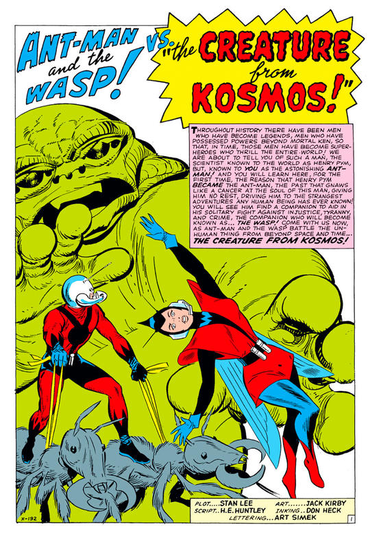 Ant-Man and the Wasp: The Creature from Kosmos