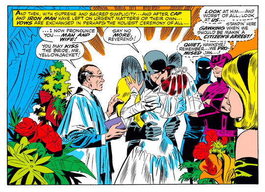 Janet and Yellowjacket's Wedding