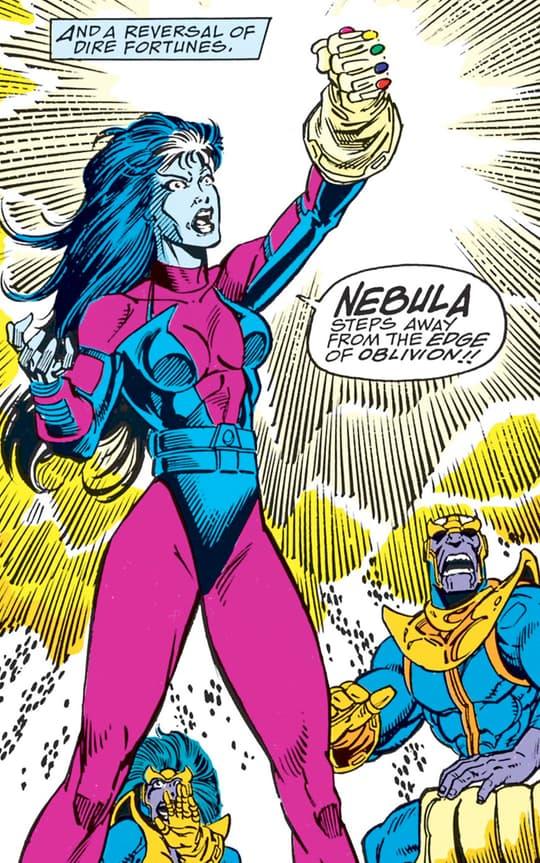 Nebula with Infinity Gems