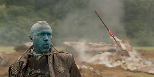 Yondu with his arrow