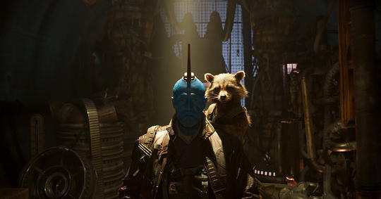 Yondu defeating a mutiny