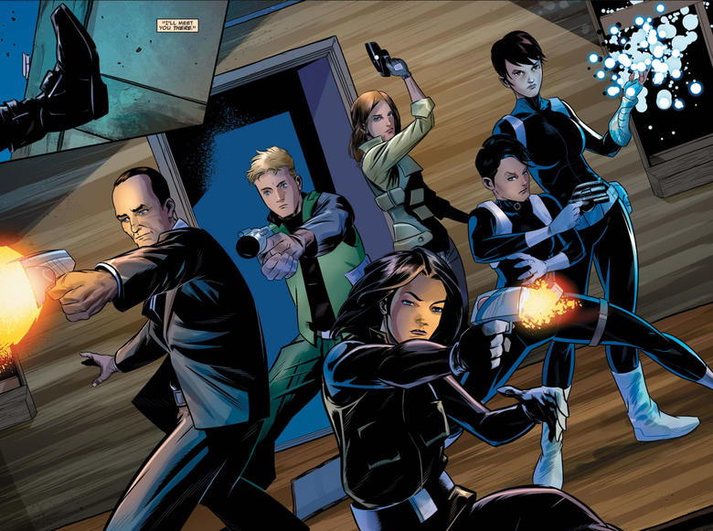 Coulson and his team springing into action