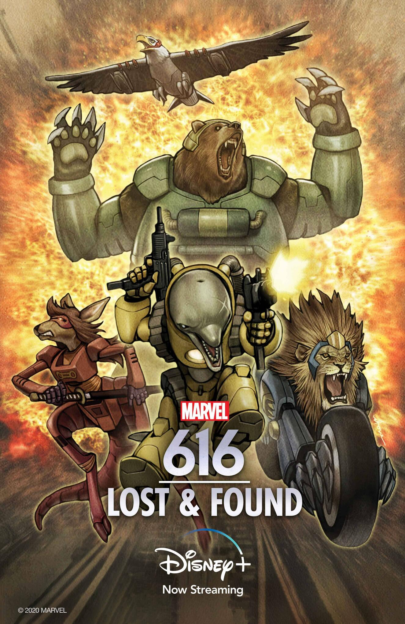 Marvel's 616 Lost and Found