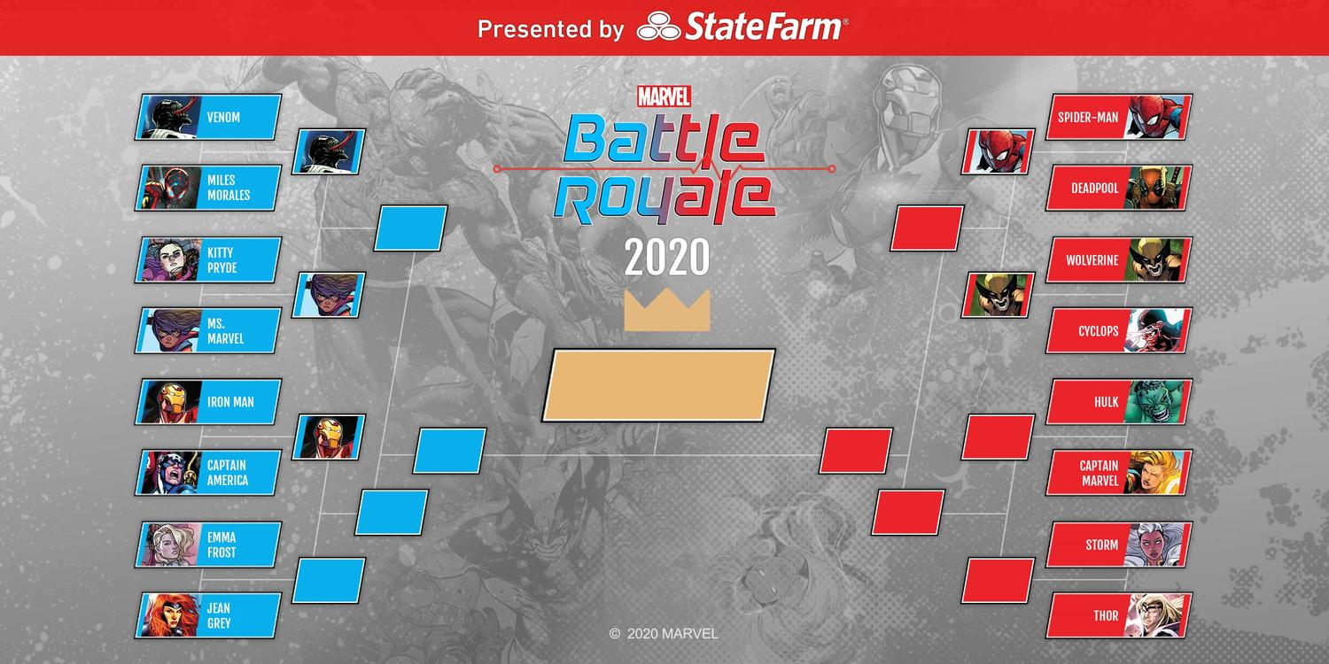 The Marvel Battle Royale 2020