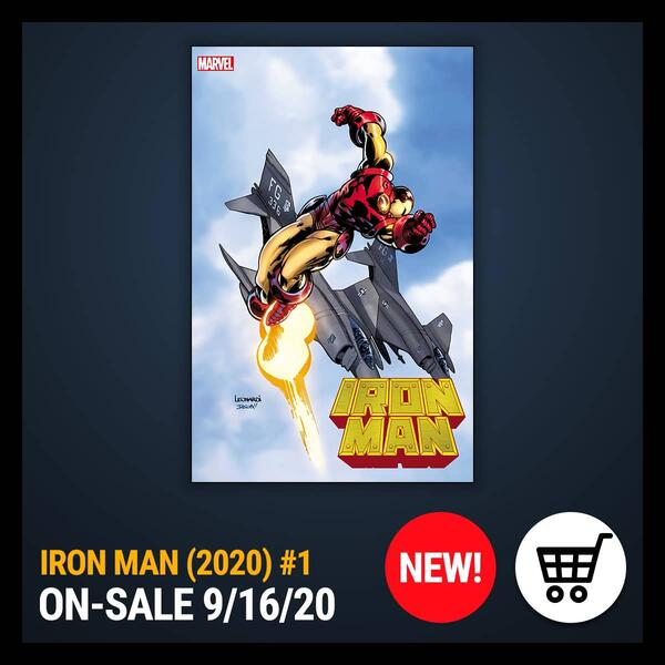 Marvel Insider Get the Comic of the Week IRON MAN (2020) #1