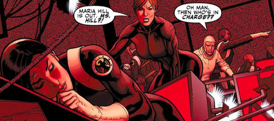 Maria Hill is no longer head of SHIELD