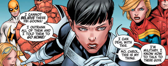 Maria Hill Takes Charge