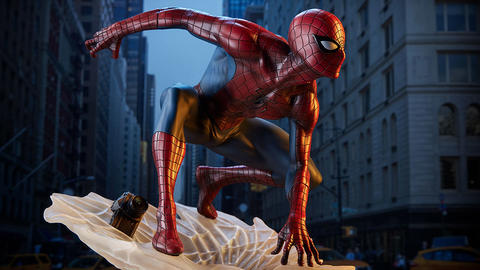 Image for Creating Sideshow's Mark Brooks Spider-Man / Spider-Verse Statues and Fine Art Print