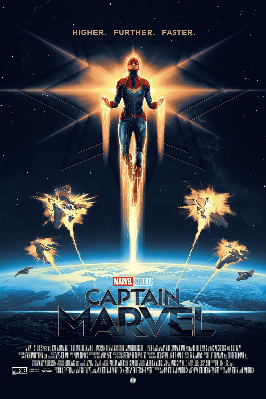 Captain Marvel by Matt Ferguson