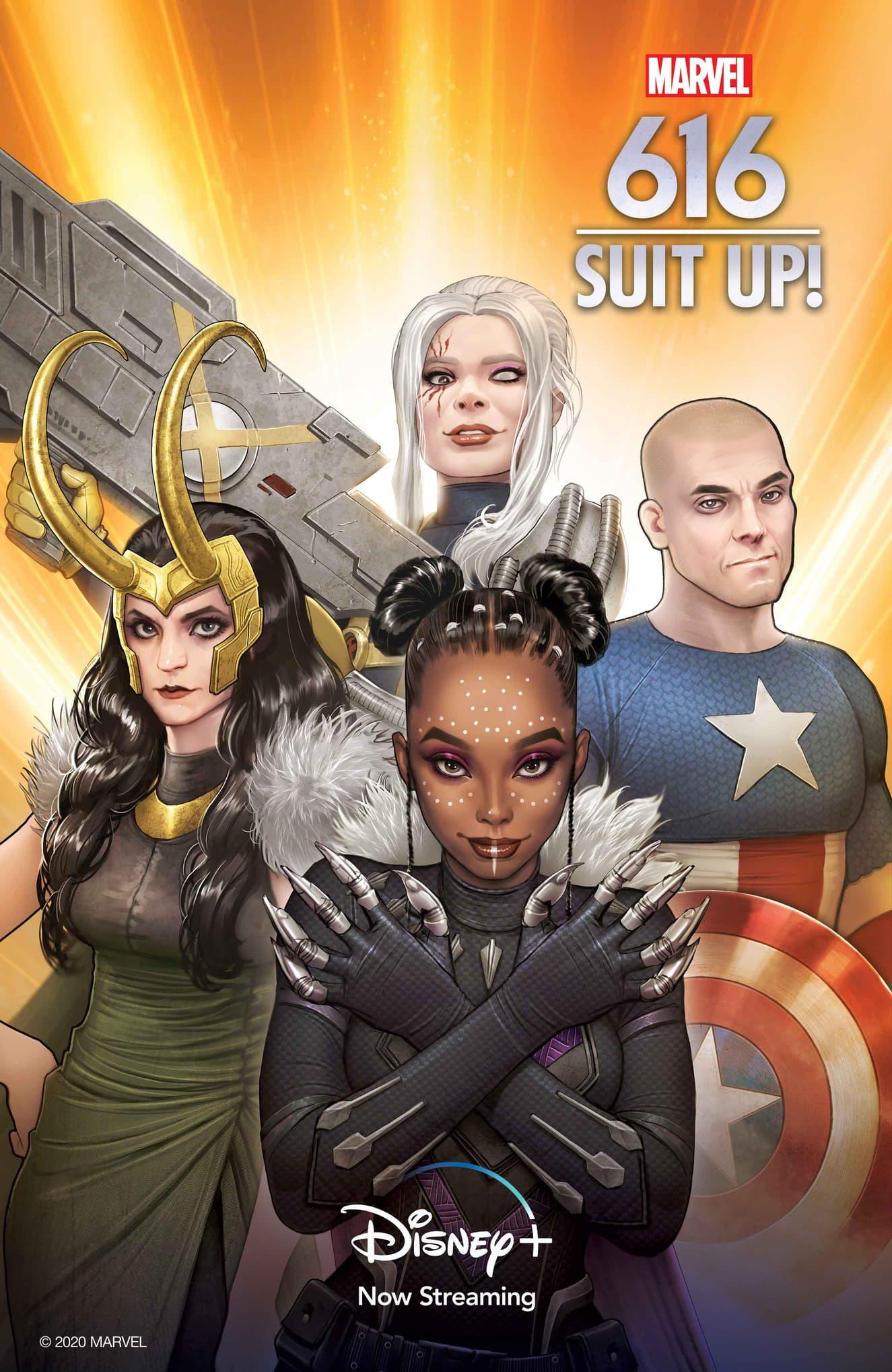 Marvel's 616 Suit Up
