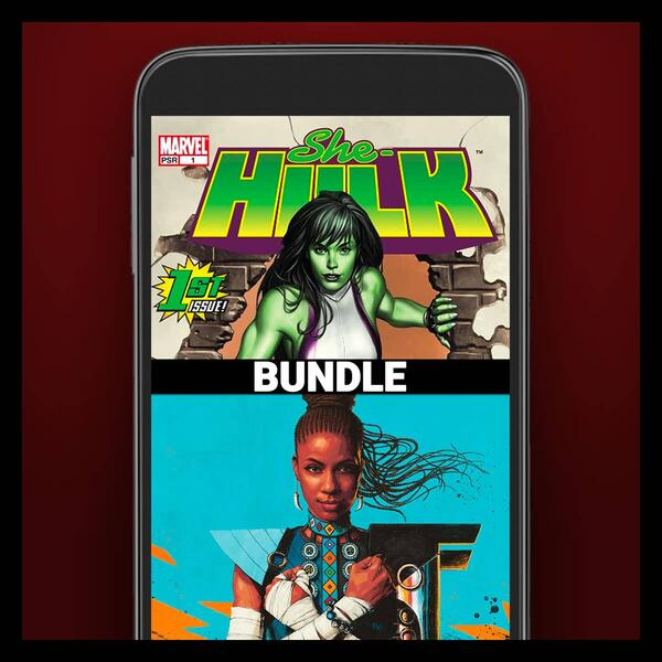 Marvel Insider Level: Agent  SHE-HULK (2004) #1 & SHURI (2018) #1