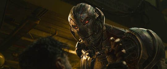 Ultron looking menacing