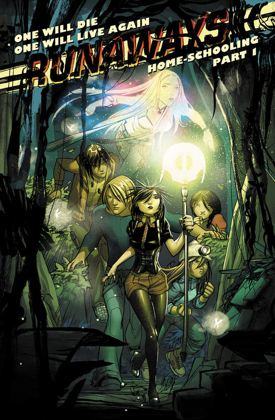 Runaways Comic Issue Cover