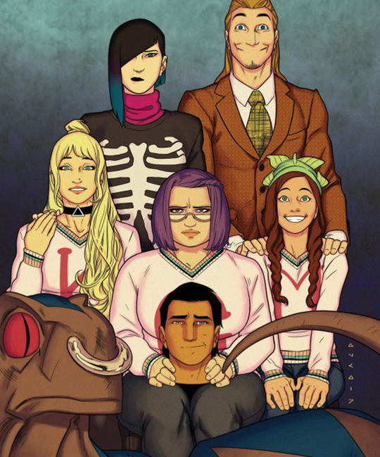 Runaways grown-up
