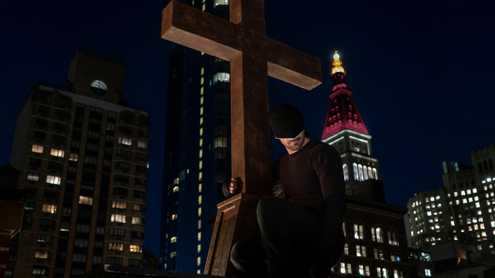 "Charlie Cox as Matt Murdock/Daredevil in ""Marvel's Daredevil"" Season 3"