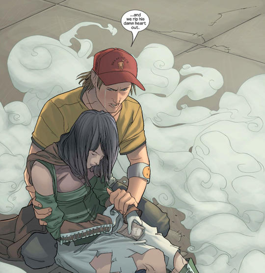 Chase talking to Nico about Victor Mancha.