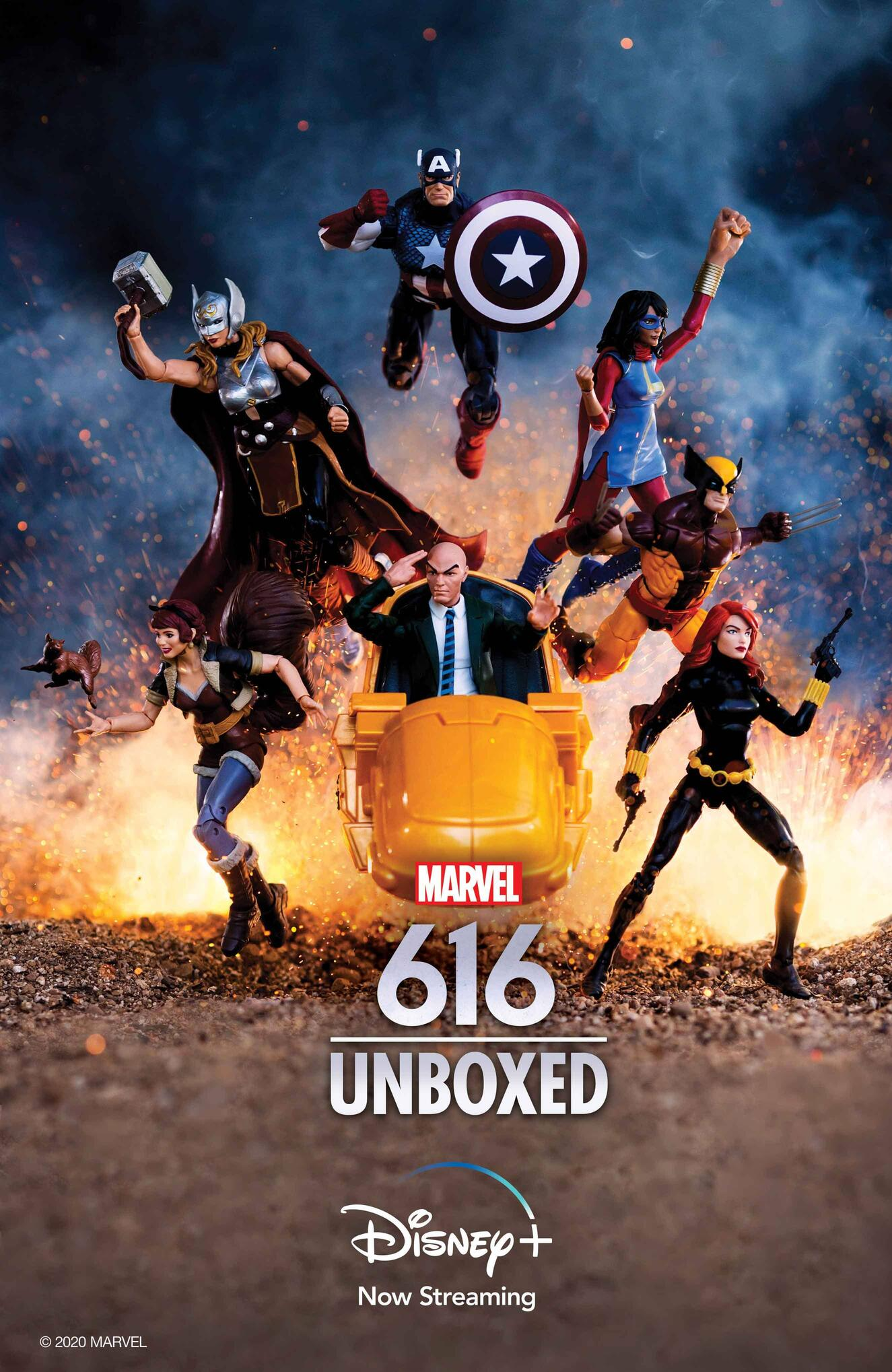 Marvel's 616 Unboxed