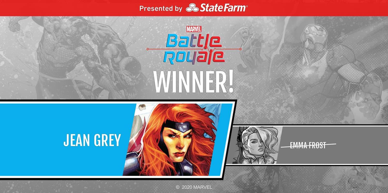 Jean Grey wins