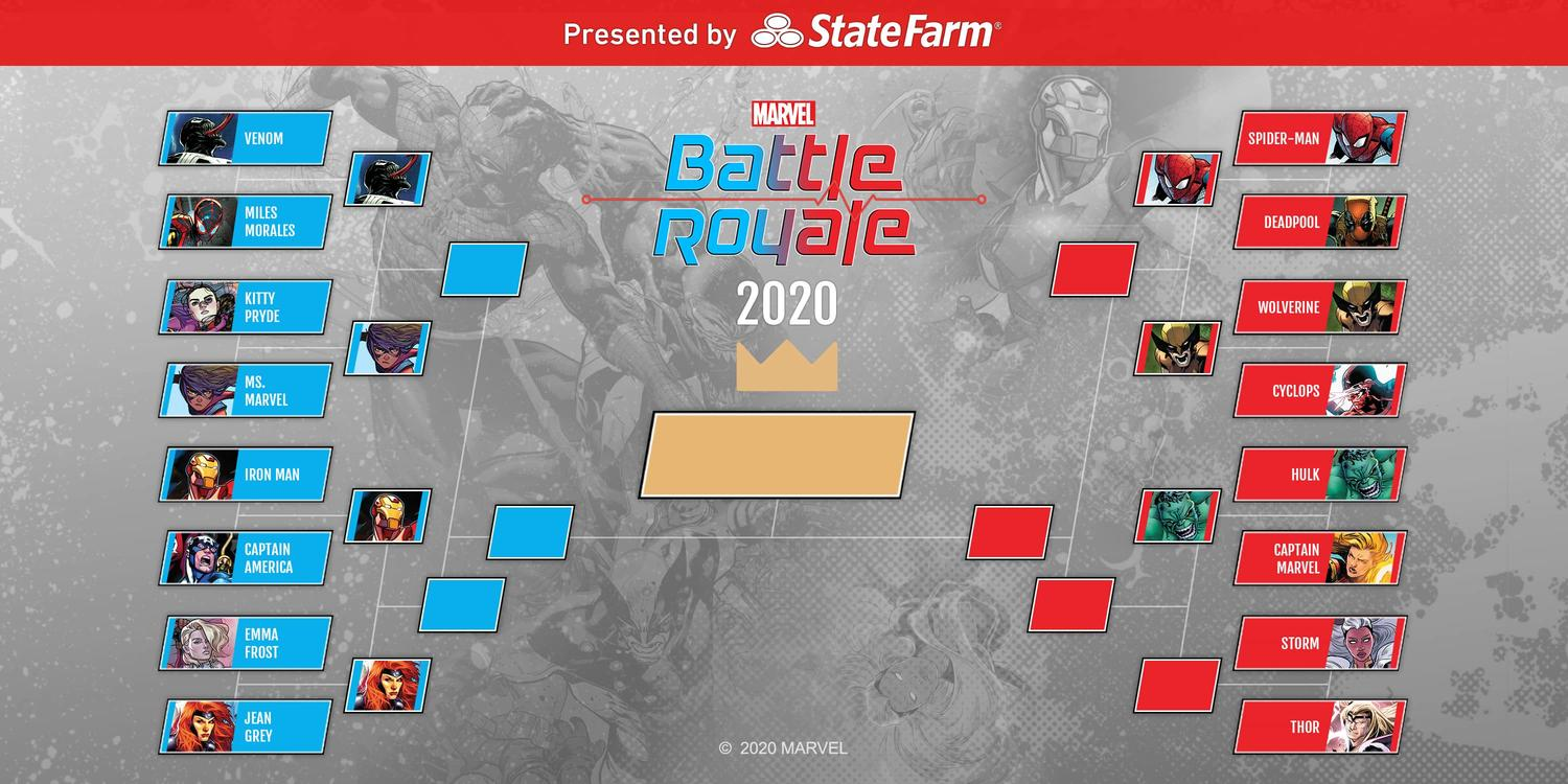 Marvel Battle Royale 2020