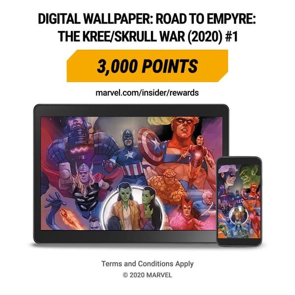Marvel Insider ROAD TO EMPYRE: THE KREE/SKRULL WAR (2020) #1 Digital Wallpaper