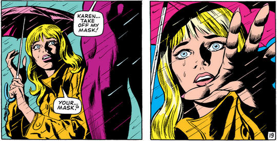 Karen Page Takes off Daredevil's Mask