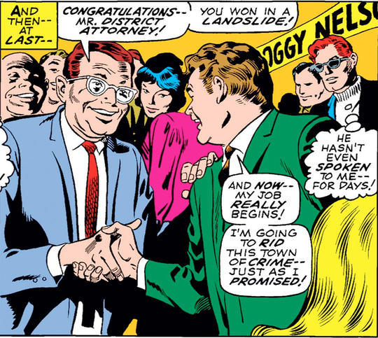 Foggy Nelson Becomes District Attorney