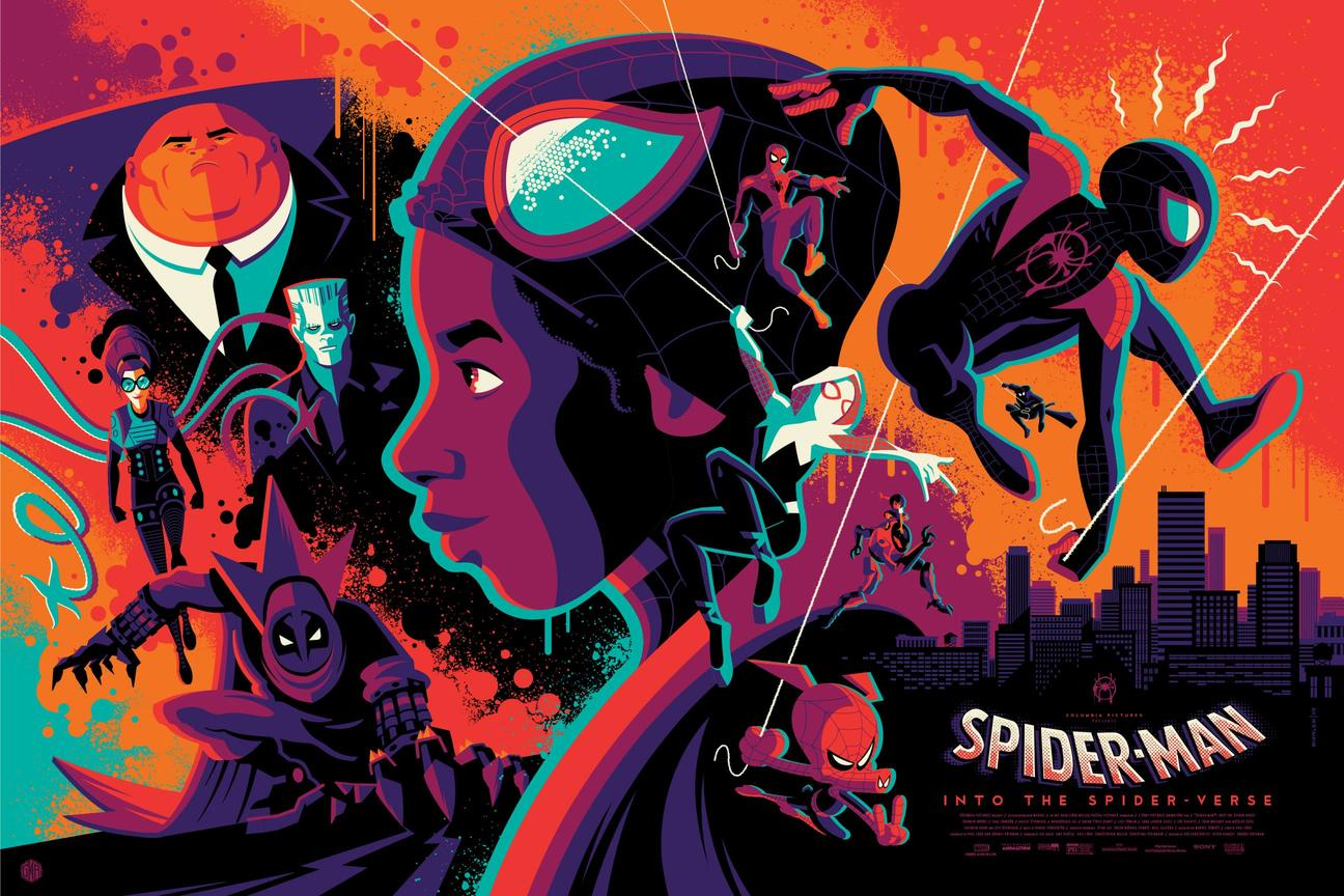 Into the Spider-Verse Tom Whalen
