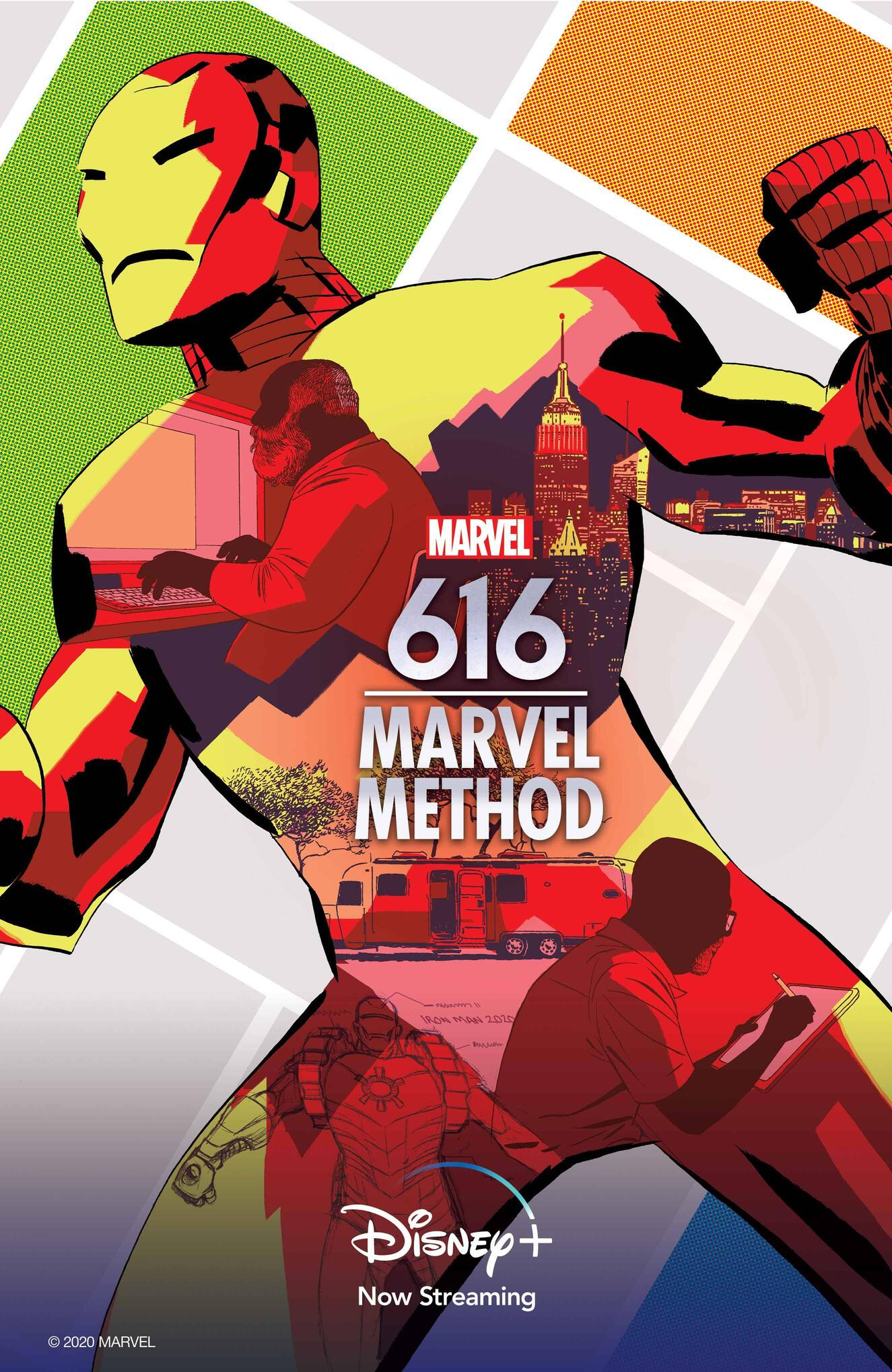 Marvel's 616 Marvel Method