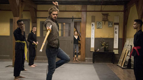 Image for Iron Fist Begins His Journey in First Series Photos