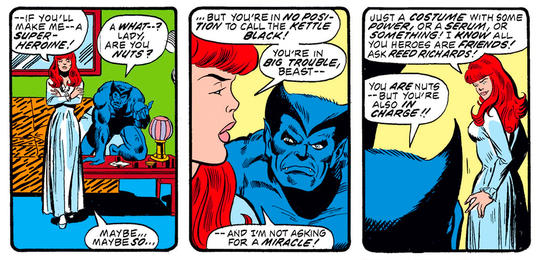Patsy Walker and Beast