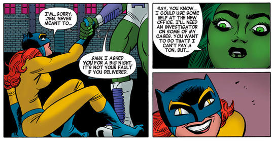 Hellcat and She-Hulk