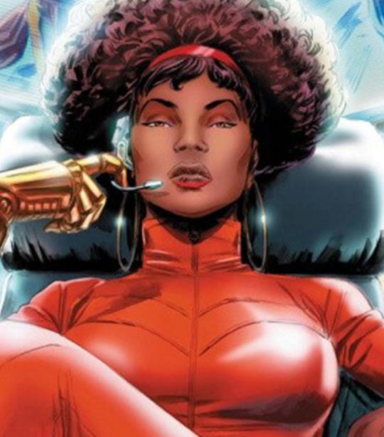 Misty Knight Card