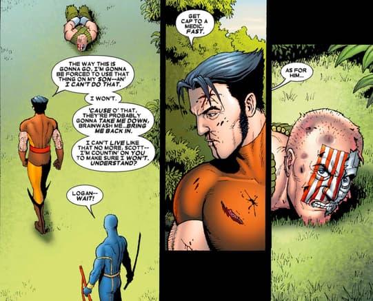 Logan considering Nuke's fate