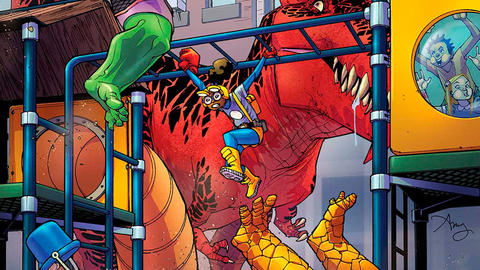 Image for Moon Girl & Devil Dinosaur: Head of the Class