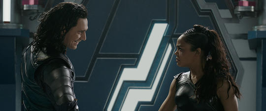 Valkyrie and Loki