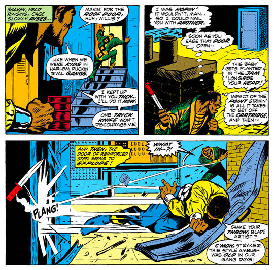 Diamondback fighting Luke Cage