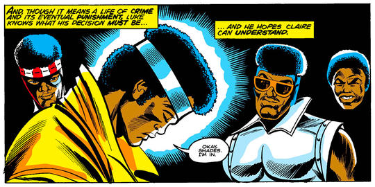 Shades and Luke Cage team up