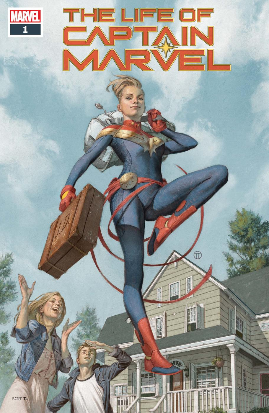 The Life of Captain Marvel (2018) #1