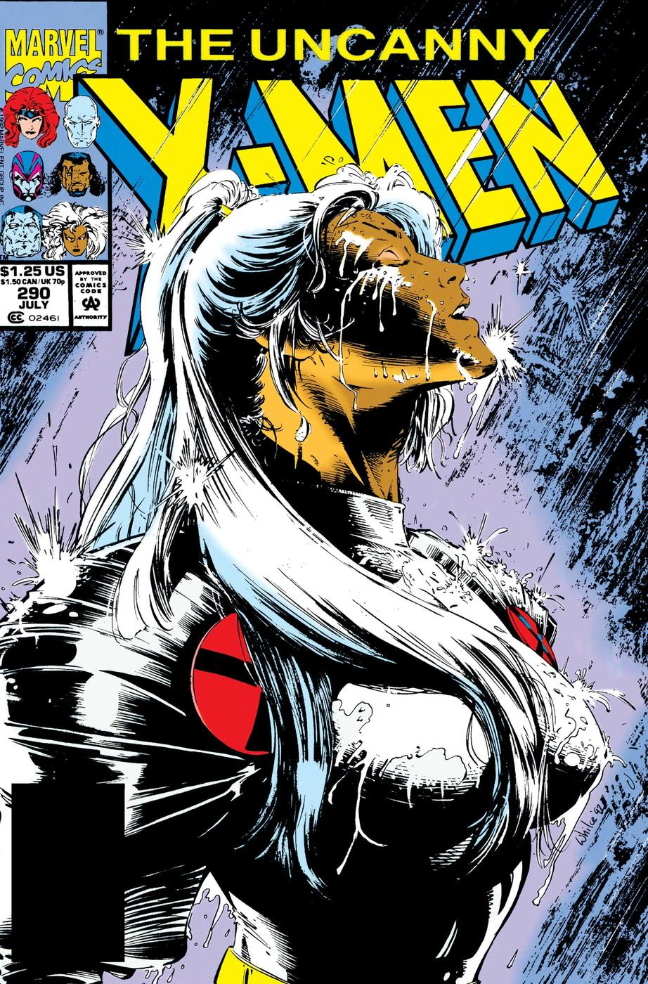UNCANNY X-MEN (1963) #290 by Whilce Portacio