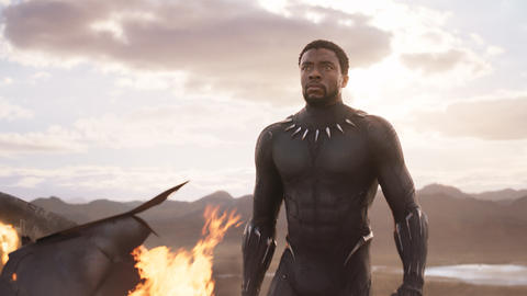 Image for It Feels 'Good to Be King' For Chadwick Boseman