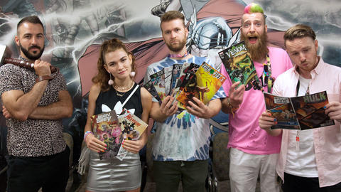 Image for MisterWives Join the Marvel Podcast