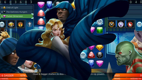 Image for Piecing Together Marvel Puzzle Quest: Cloak & Dagger